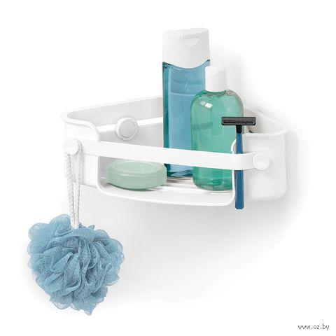 """Полка для ванной угловая """"Flex"""" (300х90х180 мм) — фото, картинка"""