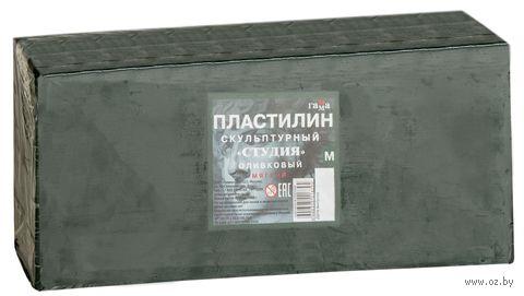 """Пластилин скульптурный """"Оливковый"""" М (1000 гр.)"""