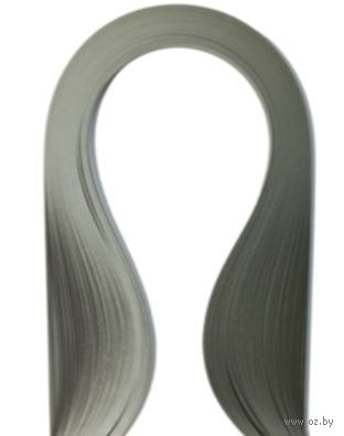 Бумага для квиллинга (300х5 мм; серый; 100 шт)