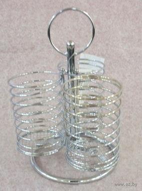 Подставка для кухонных принадлежностей металлическая (23х15,5х15,5 см; арт. XX2053)