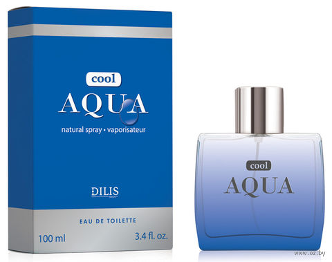 """Туалетная вода для мужчин """"Cool Aqua"""" (100 мл) — фото, картинка"""
