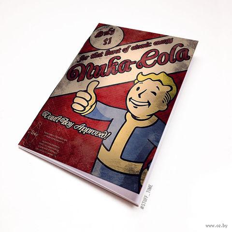 """Блокнот белый """"Fallout"""" А5 (528)"""