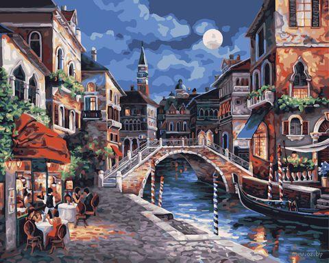 "Картина по номерам ""Ночная Венеция"" (400х500 мм; арт. PC4050015) — фото, картинка"