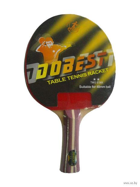 "Ракетка для настольного тенниса ""BR01"" (2 звезды) — фото, картинка"