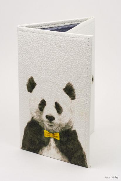 "Обложка на паспорт и автодокументы ""Панда"" — фото, картинка"