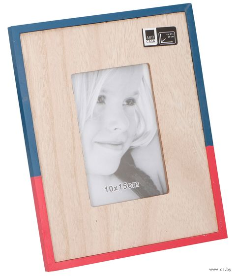 Рамка деревянная (10х15 см; арт. 871125204256) — фото, картинка