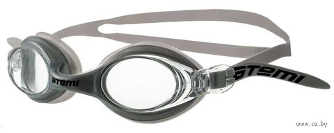 Очки для плавания (серые; арт. N7105) — фото, картинка