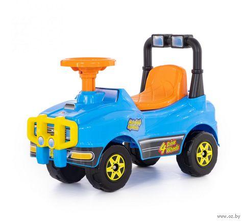 """Автомобиль-каталка """"Джип"""" (со звуковыми эффектами; арт. 62840) — фото, картинка"""