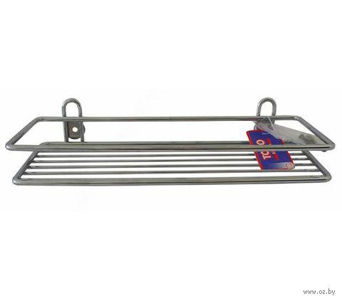 Полка для ванной металлическая (302х103 мм)