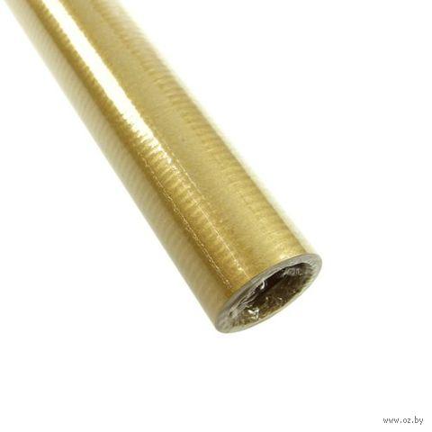"""Бумага подарочная в рулоне """"Gold&Silver Kraft"""" (цвет: золотой)"""