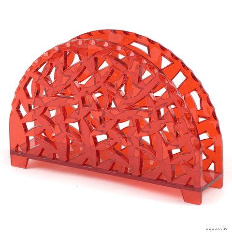 Подставка для салфеток пластмассовая (15х3,8х10,3 см; арт. 10077)