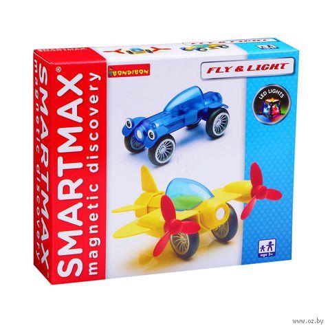 """Конструктор магнитный """"SmartMax. Полет и свет"""""""