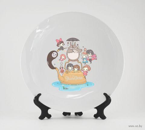 "Тарелка ""Studio Ghibli"" (арт. 906)"