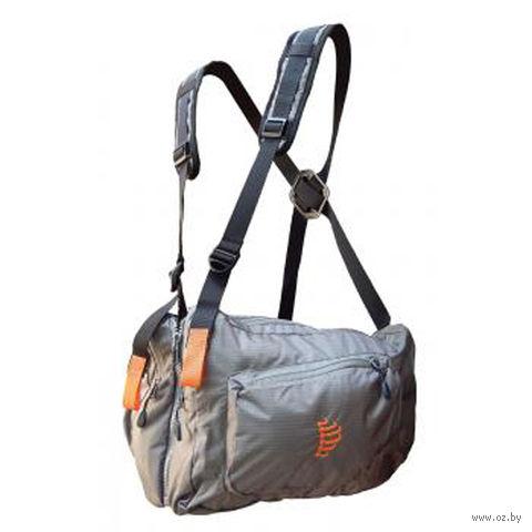 Система нагрудных сумок Ribz (L; серый) — фото, картинка