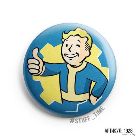 """Значок """"Fallout"""" (арт. 1928) — фото, картинка"""