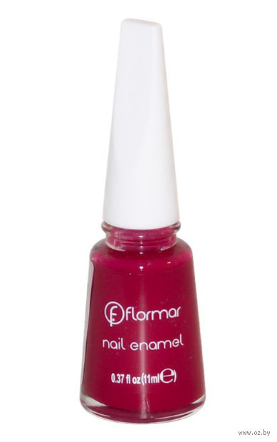"Лак для ногтей ""Nail Enamel"" тон: 127, berry nuances-bright — фото, картинка"