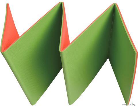 """Коврик туристический складной """"Тourist 8"""" (зелёно-красный) — фото, картинка"""
