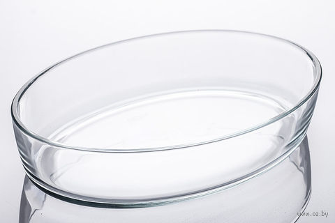 Блюдо стеклянное (2,2 л; овальное)