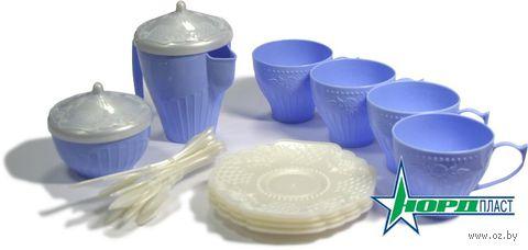 """Набор детской посуды """"Волшебная хозяюшка. Чайный сервиз"""" (24 шт; арт. 613)"""