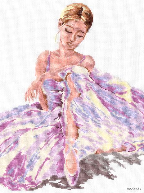 """Вышивка крестом """"Балерина"""" (240x300 мм) — фото, картинка"""