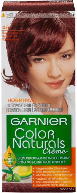 "Крем-краска для волос ""Color Naturals"" (тон: 4.6, дикая вишня) — фото, картинка"