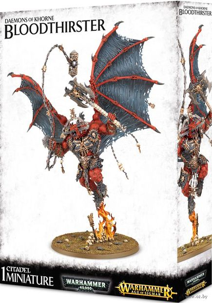 Warhammer Age of Sigmar. Blades of Khorne. Bloodthirster (97-27) — фото, картинка