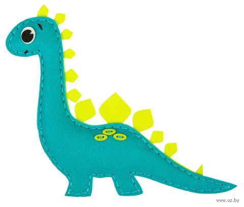 """Набор для шитья из фетра """"Динозаврик"""" — фото, картинка"""