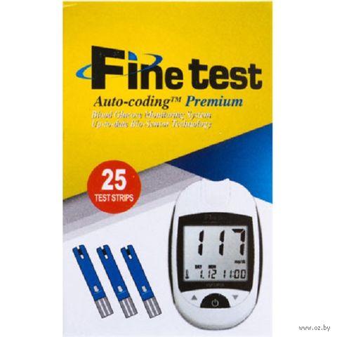 Тест-полоски Infopia Finetest Auto-Coding Premium 25 шт. — фото, картинка