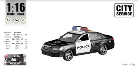 """Инерционная машинка """"Полиция"""" (со световыми и звуковыми эффектами; арт. WY560B) — фото, картинка"""