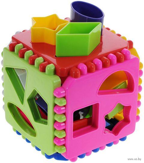 """Сортер """"Логический куб"""" (арт. 01307) — фото, картинка"""