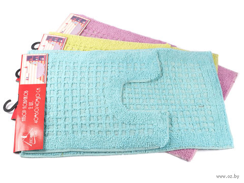 Набор ковриков текстильных (2 шт.; арт. S-0049)