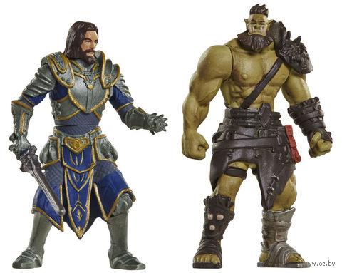 "Набор фигурок ""Warcraft. Лотар и Воин Орды"" (7 см)"