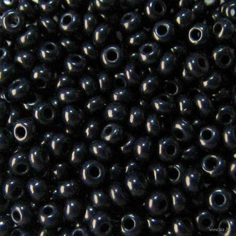 Бисер №33080 (иссиня-черный; 10/0)