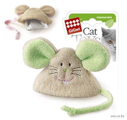 """Игрушка для кошек с кошачьей мятой """"Мышка"""" (8 см) — фото, картинка"""