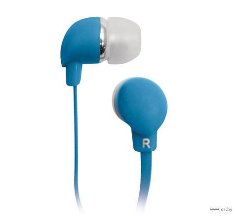 Наушники BBK EP-1190S (синие) — фото, картинка