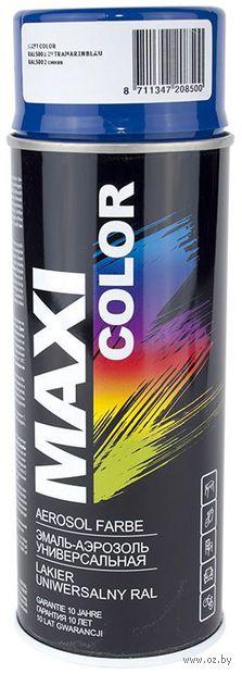 """Эмаль аэрозольная """"Maxi Color"""" (синяя) — фото, картинка"""