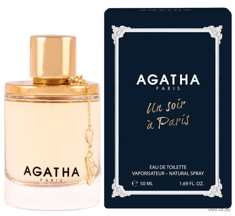 """Туалетная вода для женщин Agatha """"Un Soir A Paris"""" (50 мл) — фото, картинка"""