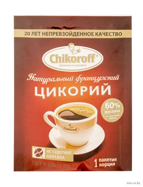 "Цикорий растворимый ""Chikoroff"" (5 г) — фото, картинка"