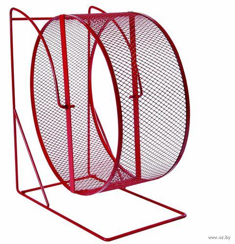 """Колесо для грызунов полузакрытое на подставке """"TRIXIE"""" (диаметр 22 см, арт. 61002)"""