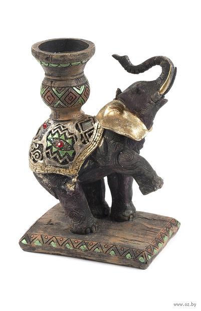 """Статуэтка пластмассовая """"Слон"""" (12х8х16 см; арт. XY-JM010-1)"""