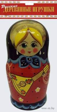 """Матрешка """"Балалайка"""" (5 куколок)"""