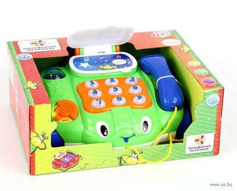 """Развивающая игрушка """"Телефончик-каталка"""""""