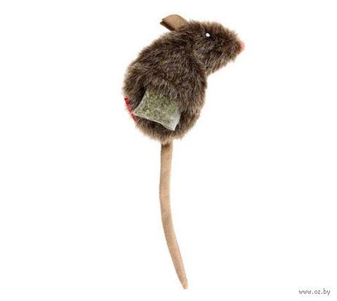 """Игрушка для кошек """"Мышка"""" с кошачьей мятой (10 см; арт. 75300) — фото, картинка"""