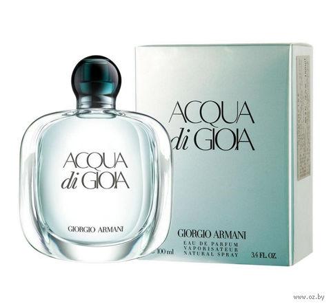 """Парфюмерная вода для женщин Giorgio Armani """"Acqua Di Gioia"""" (100 мл) — фото, картинка"""