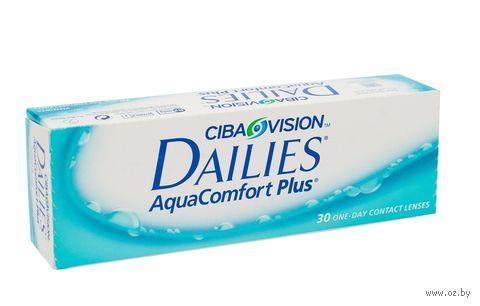 """Контактные линзы """"Dailies Aqua Comfort Plus"""" (1 линза; +4,0 дптр) — фото, картинка"""