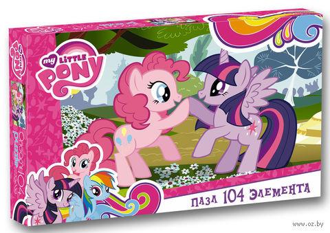 """Пазл """"My Little Pony. Пинки Пай и Сумеречная Искорка"""" (104 элемента) — фото, картинка"""