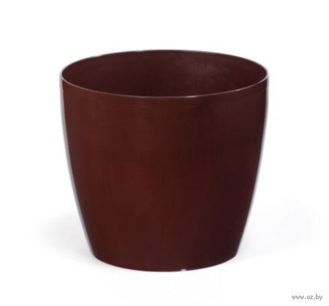 """Кашпо """"Magnolia"""" (13,5 см; мокко) — фото, картинка"""