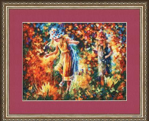 """Вышивка крестом """"Две сестры"""" (275х365 мм) — фото, картинка"""