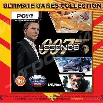 Ultimate games. 007 Legends. Русская версия