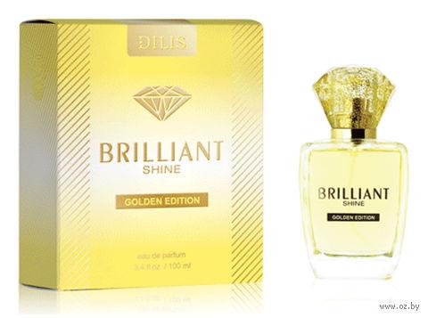"""Парфюмерная вода для женщин """"Brilliant Shine. Golden Edition"""" (100 мл) — фото, картинка"""